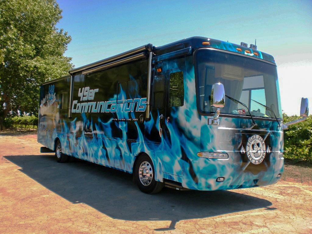 49er Communications Bus Wraps